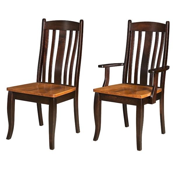 Amish Artisan Kentwood Dining Chairs | Amish Furniture | Shipshewana Furniture Co.