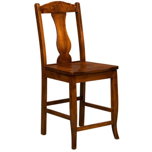 Amish Amsterdam Bar Chair | Amish Furniture | Shipshewana Furniture Co.
