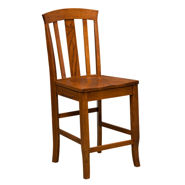 Amish Artisan Bluffton Bar Chair | Amish Furniture | Shipshewana Furniture Co.