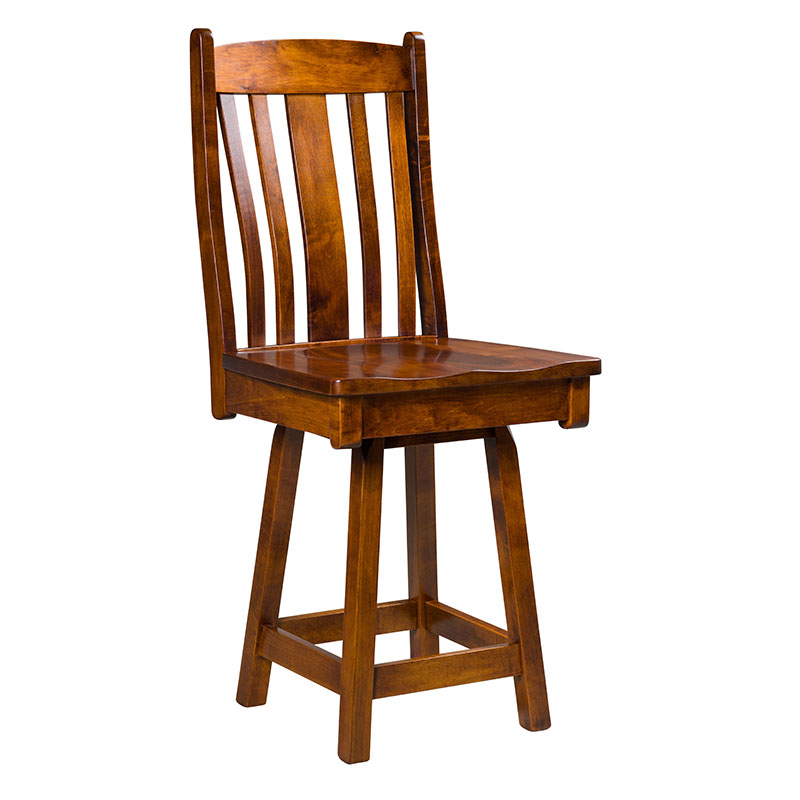Artisan Kentwood Swivel Bar Stool