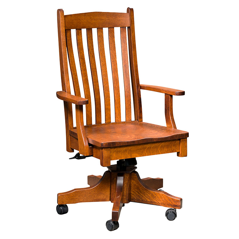 Leesburg Desk Arm Chair w/ Gas Lift