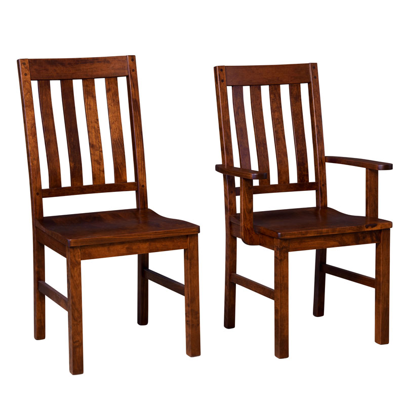 Amish Alameda Dining Chair | Amish Furniture | Shipshewana Furniture Co.