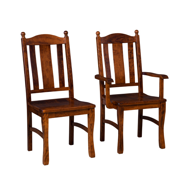 Amish Columbia Dining Chair | Amish Furniture | Shipshewana Furniture Co.