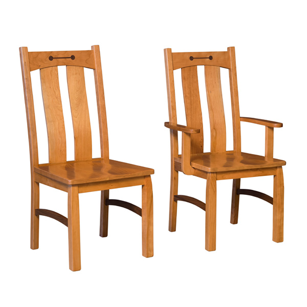 Amish Collingsworth II Dining Chair | Amish Furniture | Shipshewana Furniture Co.