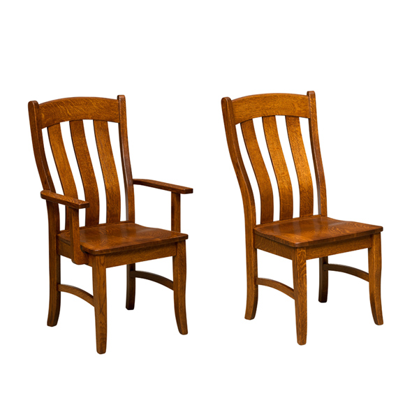 Amish Alsberg Dining Chair | Amish Furniture | Shipshewana Furniture Co.