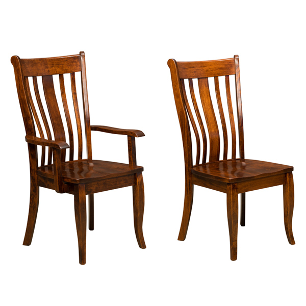 Amish Brussels Dining Chair | Amish Furniture | Shipshewana Furniture Co.