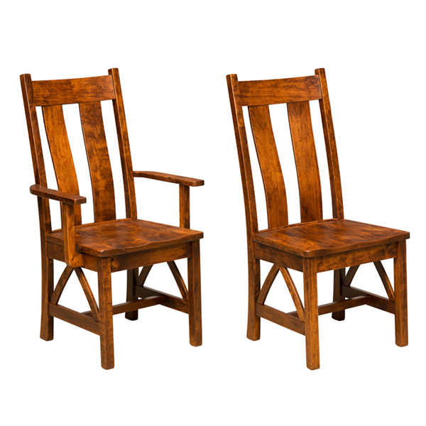 Amish Burgdorf Dining Chair | Amish Furniture | Shipshewana Furniture Co.