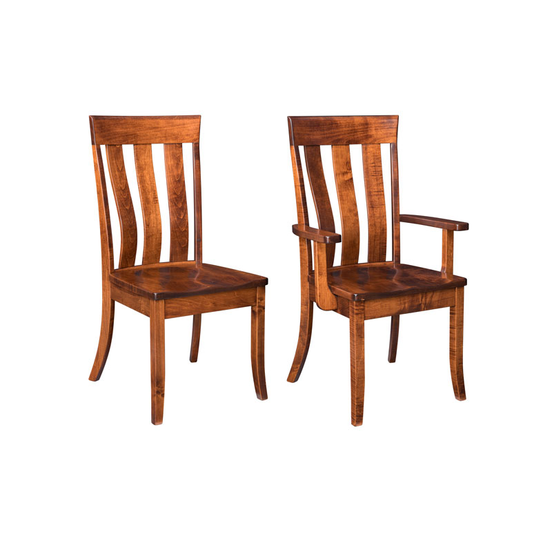 Stupendous Amish Dining Chairs Shipshewana Furniture Co Cjindustries Chair Design For Home Cjindustriesco