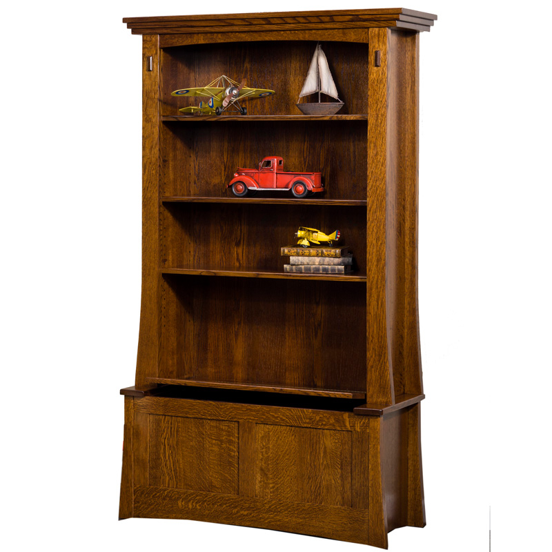 Modesto Bookcase with Storage
