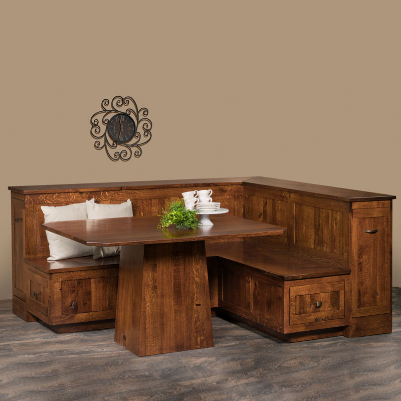 Amish Newport Nook Set | Amish Furniture | Shipshewana Furniture Co.