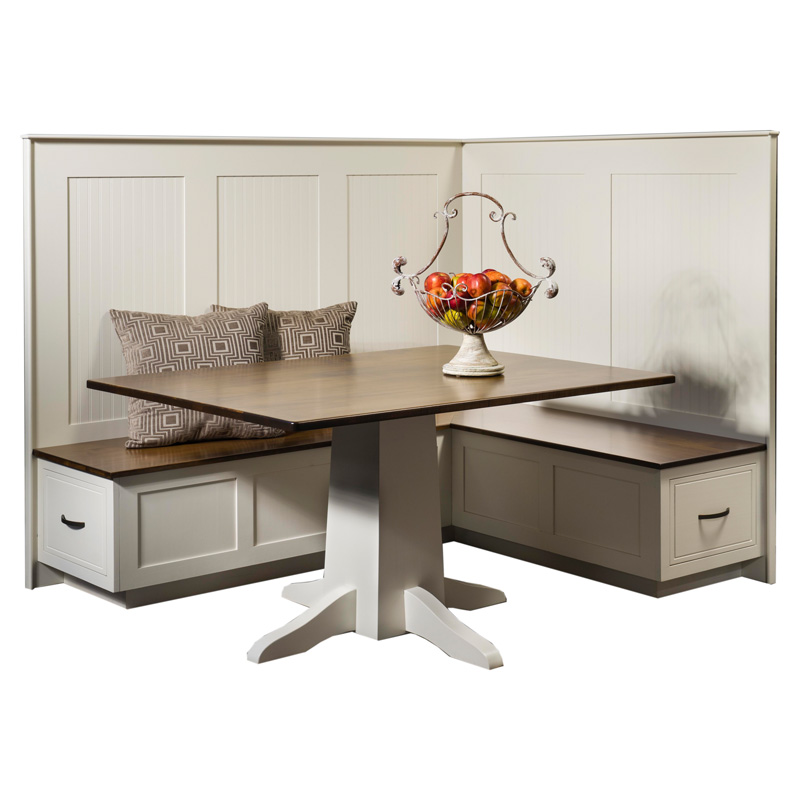 Amish South Haven Nook Set | Amish Furniture | Shipshewana Furniture Co.