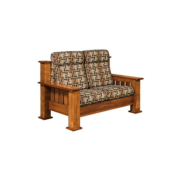 Amish Bunyan Loveseat | Amish Furniture | Shipshewana Furniture Co.