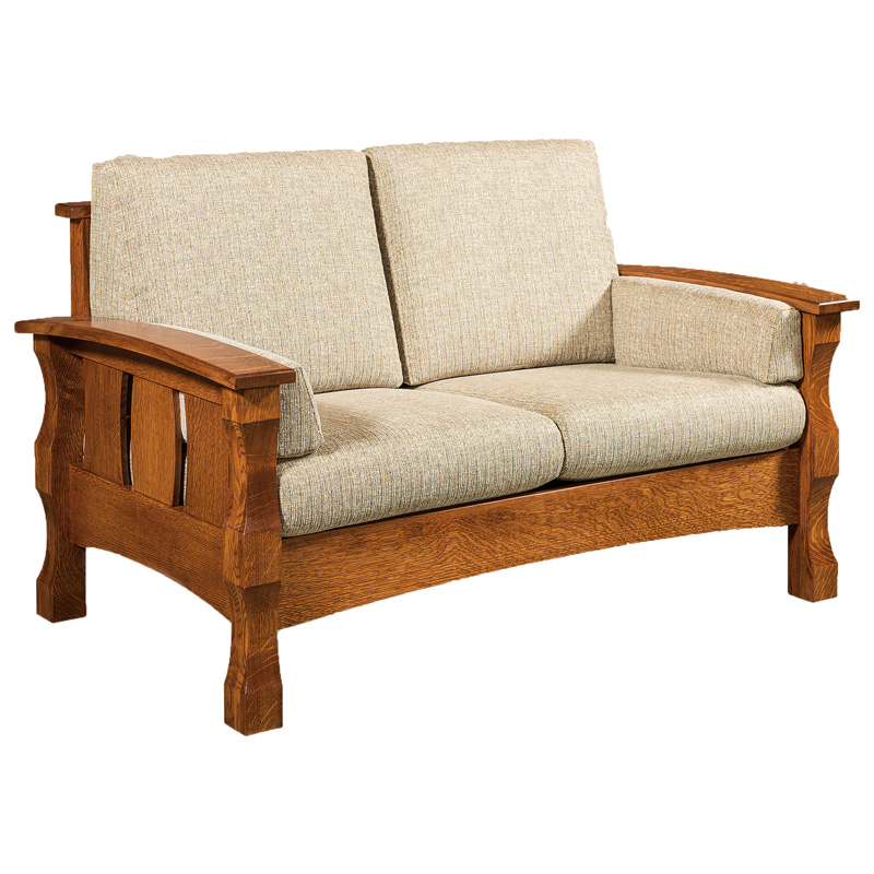 Amish Balboa Loveseat | Amish Furniture | Shipshewana Furniture Co.