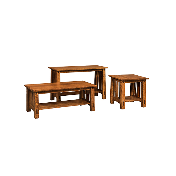 Amish McCoy Sofa Table | Amish Furniture | Shipshewana Furniture Co.