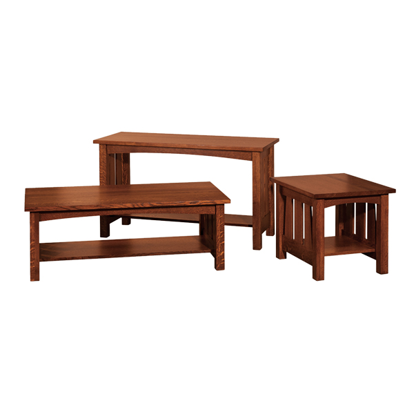 Amish Elite Sofa Table | Amish Furniture | Shipshewana Furniture Co.