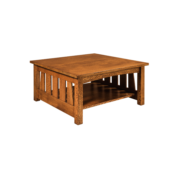 Amish Elite Coffee Table 36x36 | Amish Furniture | Shipshewana Furniture Co.