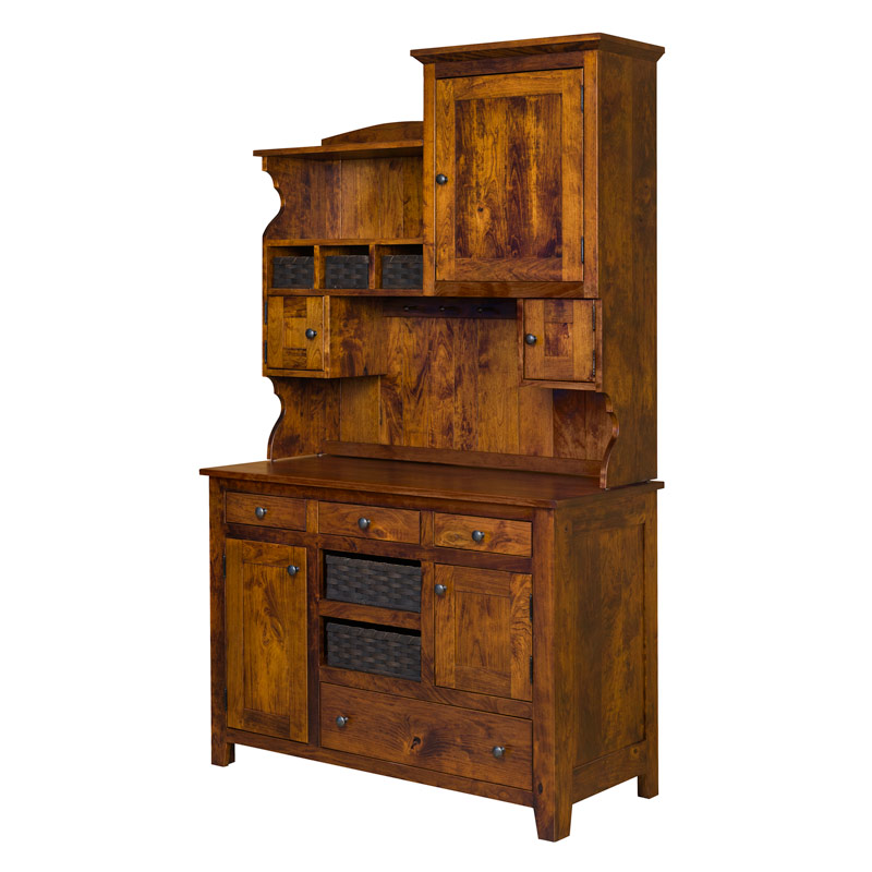 Lizzies Hutch - Rustic Cherry