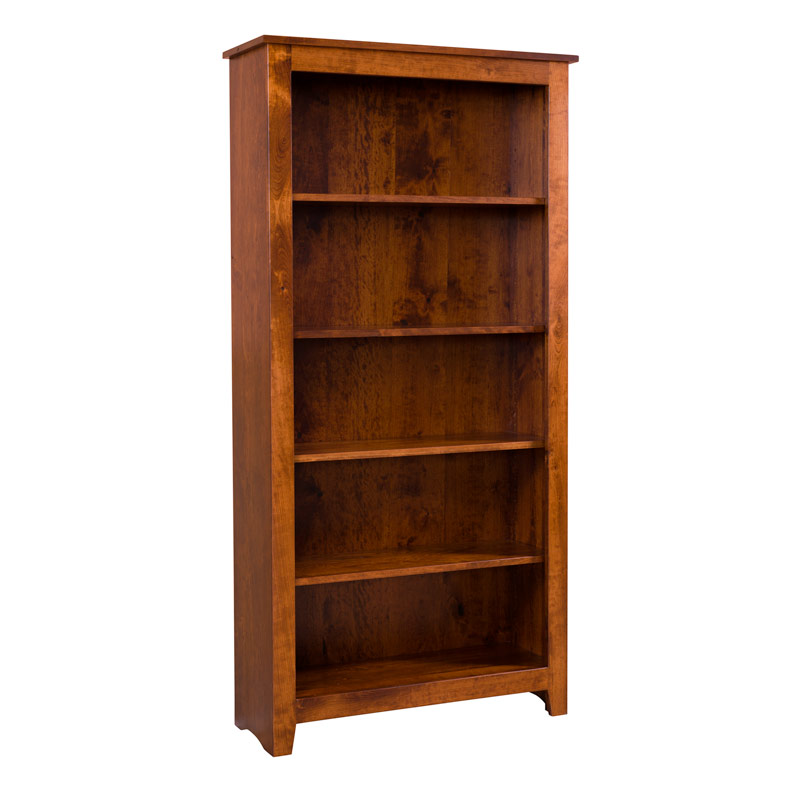 Cody Bookcase - Rustic Cherry