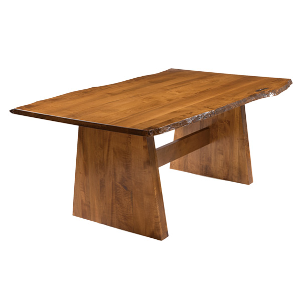 Bourne Table with Live Edge