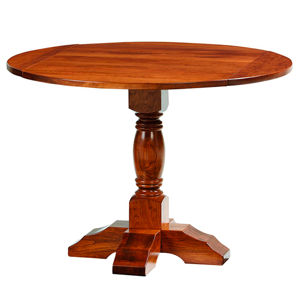 Amish Park Ridge Pedestal Dining Table | Amish Furniture | Shipshewana Furniture Co.