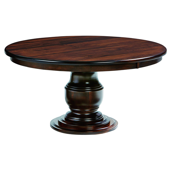 Amish Zurich Pedestal Dining Table | Amish Furniture | Shipshewana Furniture Co.