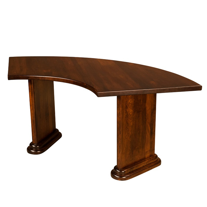 Curved Executive Conference Table Shipshewana Furniture Co - Curved conference table