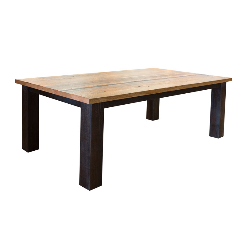 Ashfield Table - Reclaimed Barn Wood Top