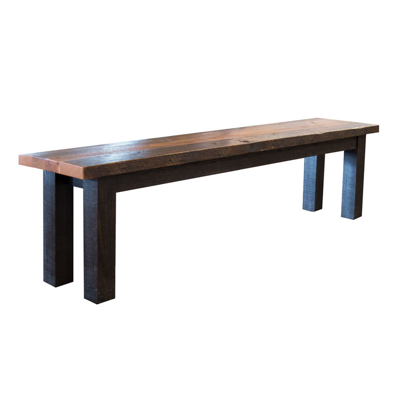 Ashfield Bench - Reclaimed Barn Wood