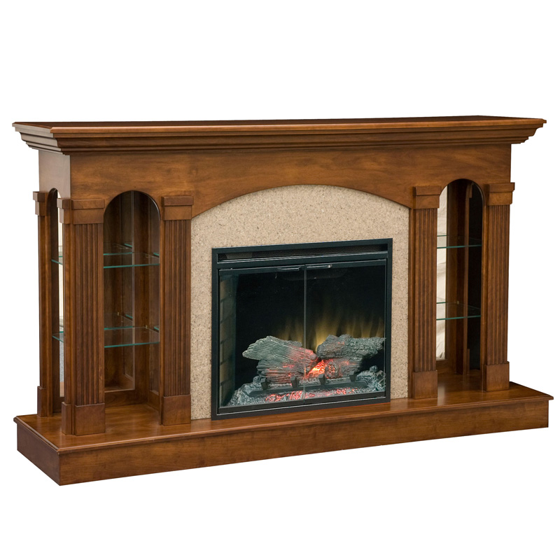 Fireplace Design amish fireplace heater : Amish Fireplaces | Show Home Design