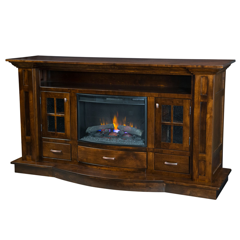 Delgado Fireplace Entertainment Console