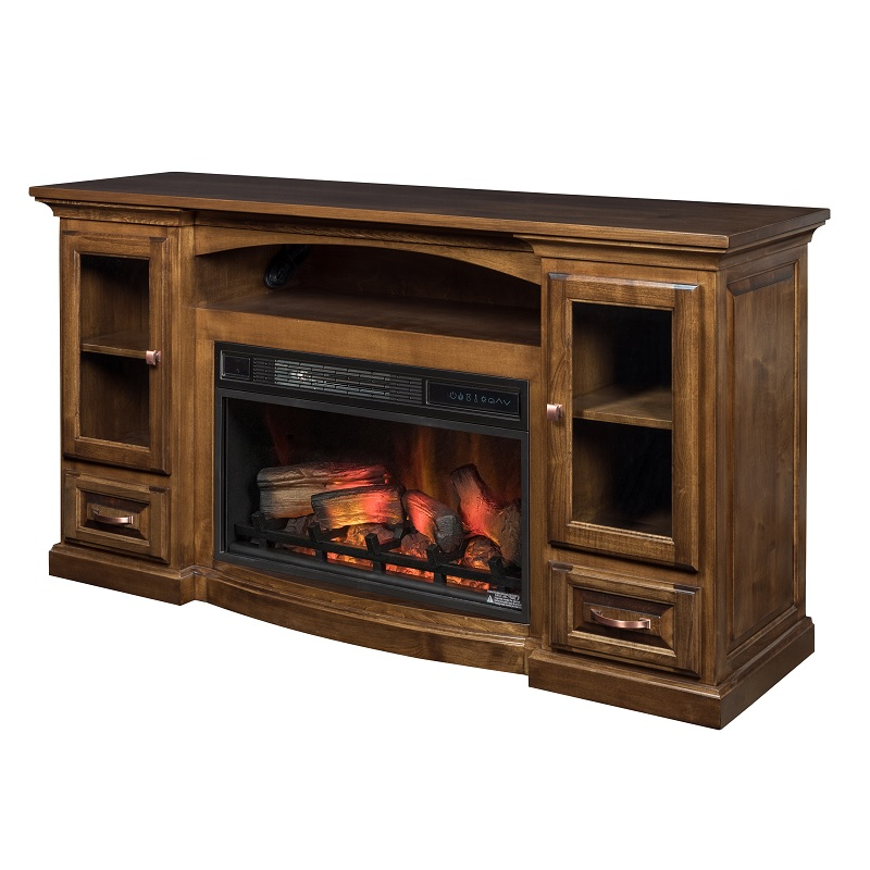 Grinnel Fireplace Entertainment Center