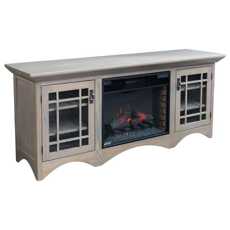 Horizons Fireplace Entertainment Console