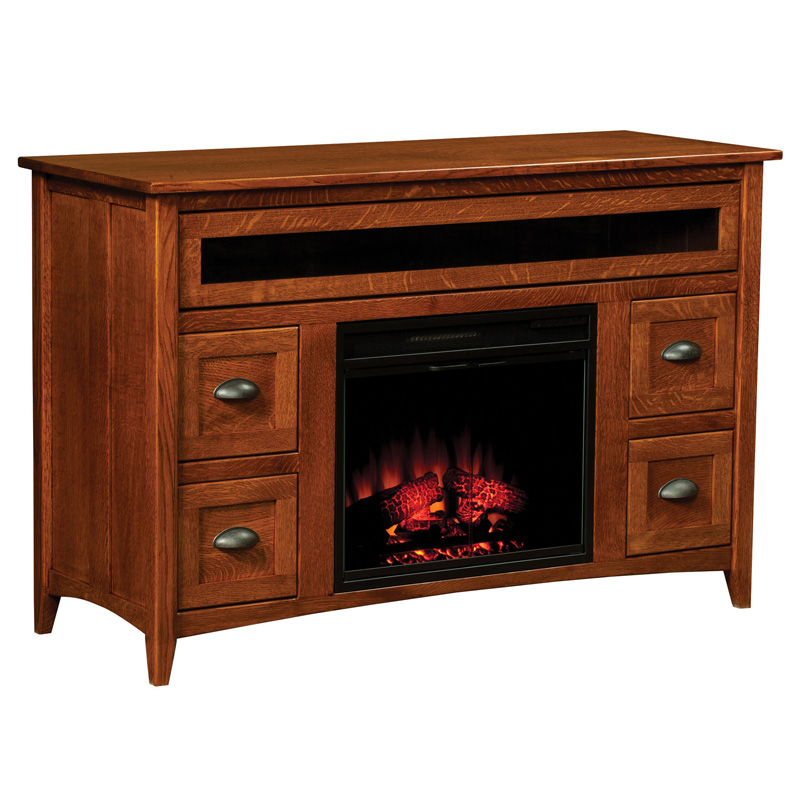 Monroe Fireplace Entertainment Console
