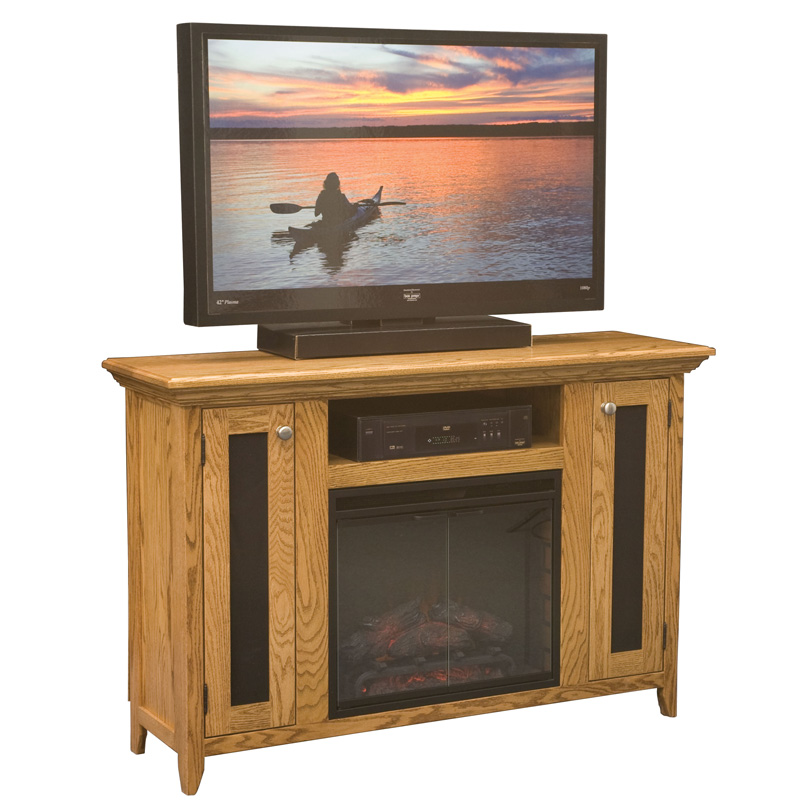 Shaker Fireplace Entertainment Console