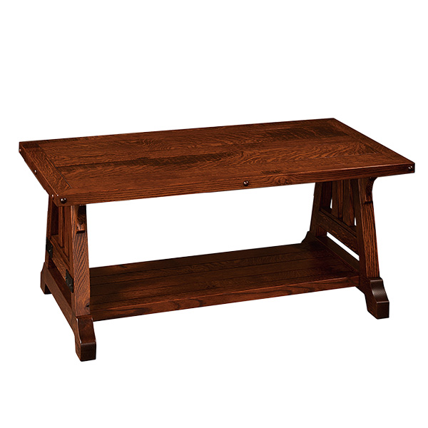 Amish Galena Coffee Table 24x42 | Amish Furniture | Shipshewana Furniture Co.
