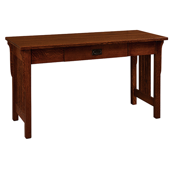 Amish Lancaster Computer Desk | Amish Furniture | Shipshewana Furniture Co.