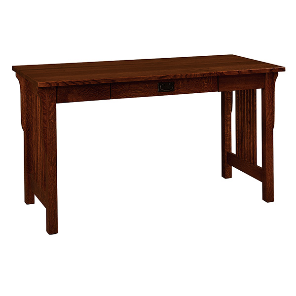 Amish Lancaster Pencil Desk | Amish Furniture | Shipshewana Furniture Co.