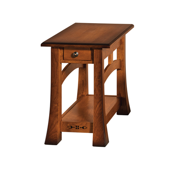 "Amish Burrough End Table 16""W 