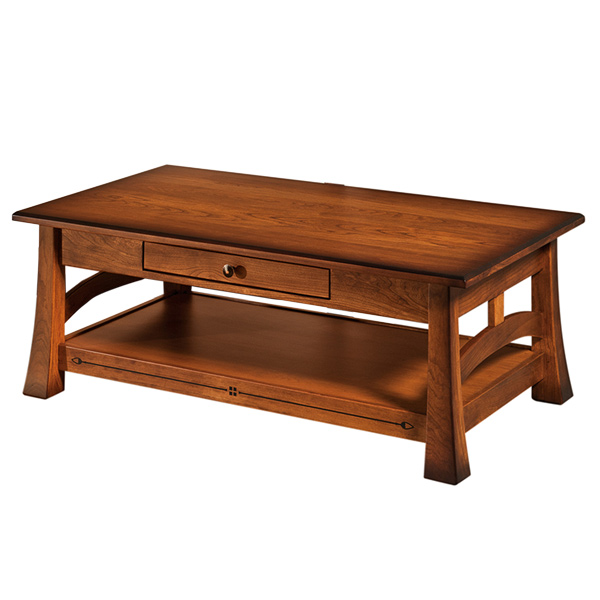 "Amish Burrough Coffee Table 48""W 