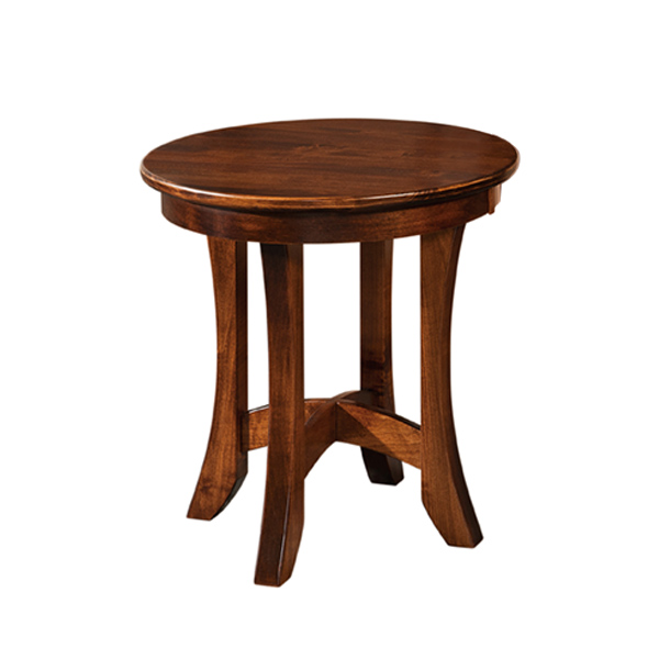 Caldera Round End Table