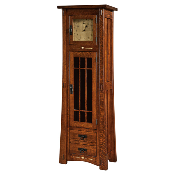 Mendon Storage Cabinet Clock