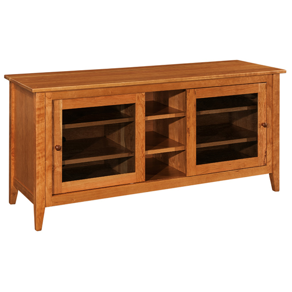 "Amish Allendale TV Cabinet 60""W 