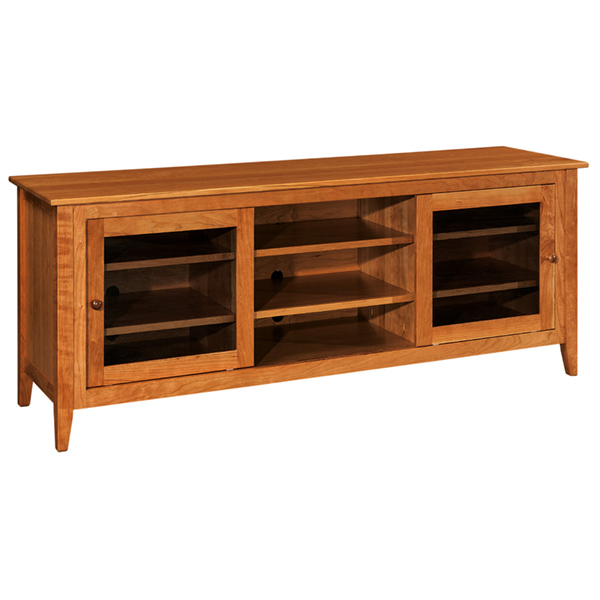 "Amish Allendale TV Cabinet 72""W 