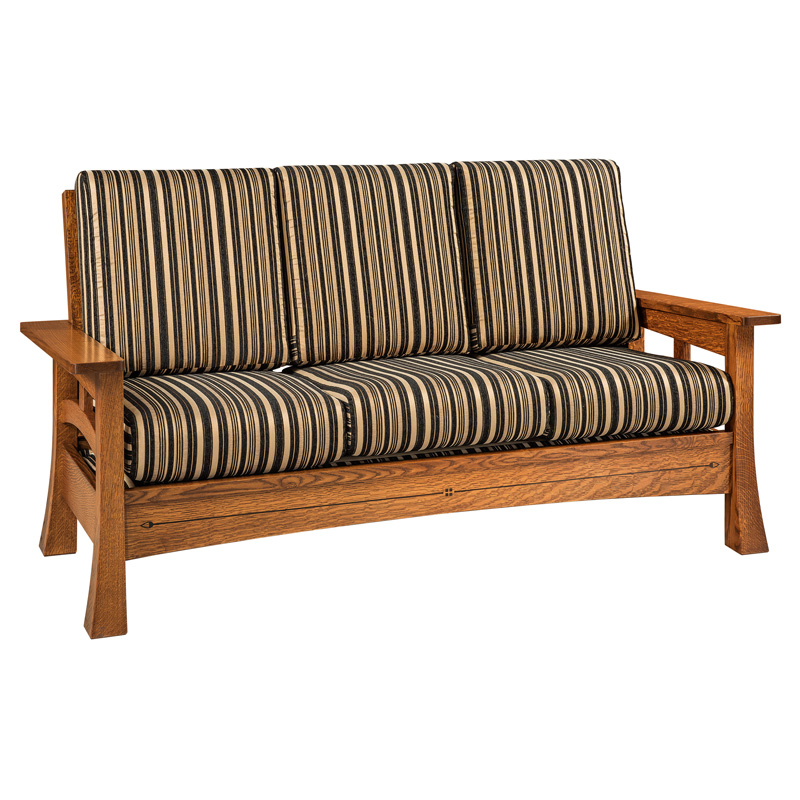 Amish Burrough Sofa | Amish Furniture | Shipshewana Furniture Co.