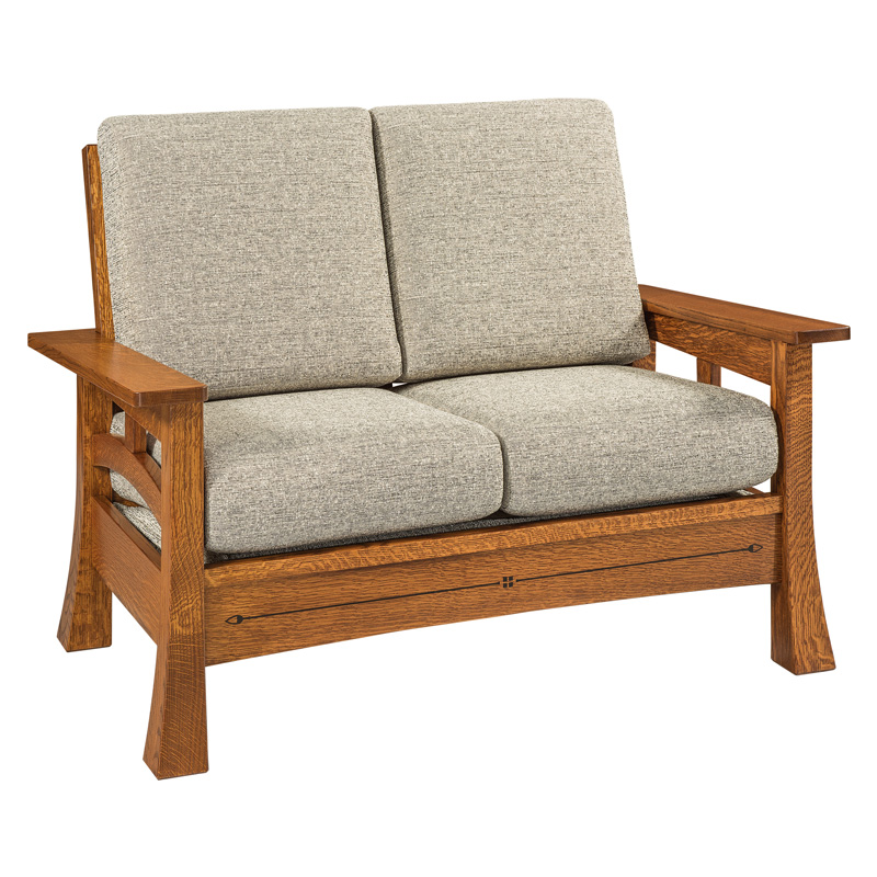 Amish Burrough Loveseat | Amish Furniture | Shipshewana Furniture Co.