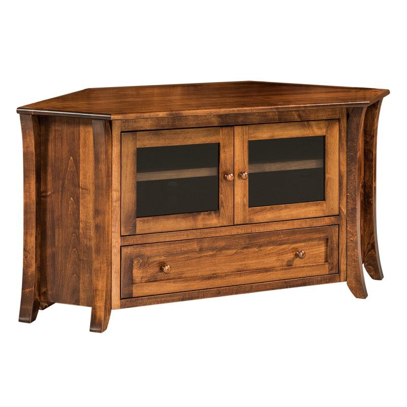 Claiborne Flat Screen TV Corner Cabinet | Shipshewana ...