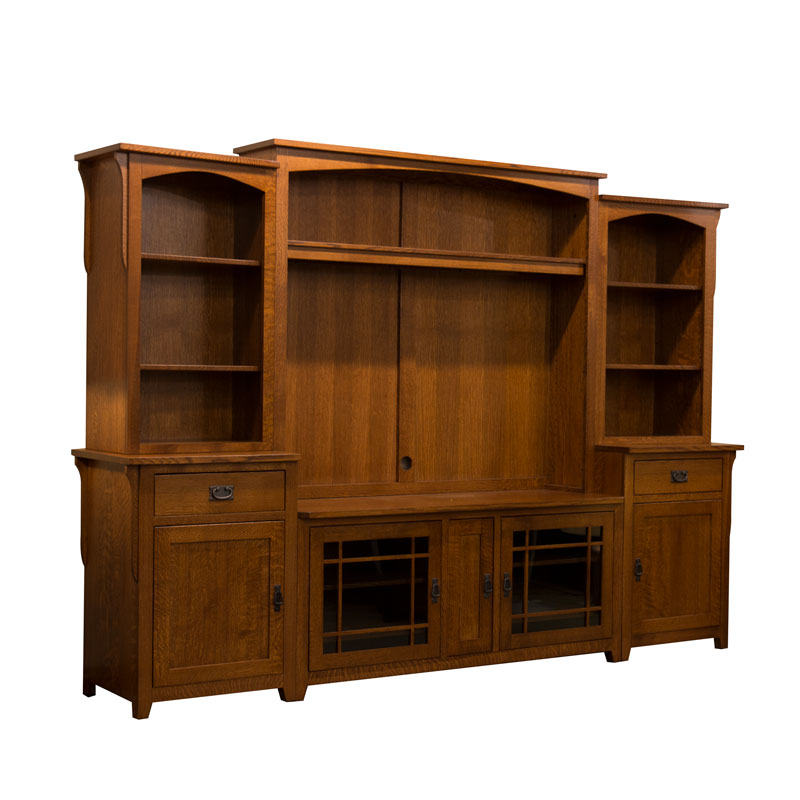 Lancaster Wall Unit Entertainment Center