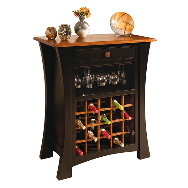Amish Wine Cabinets Amish Furniture
