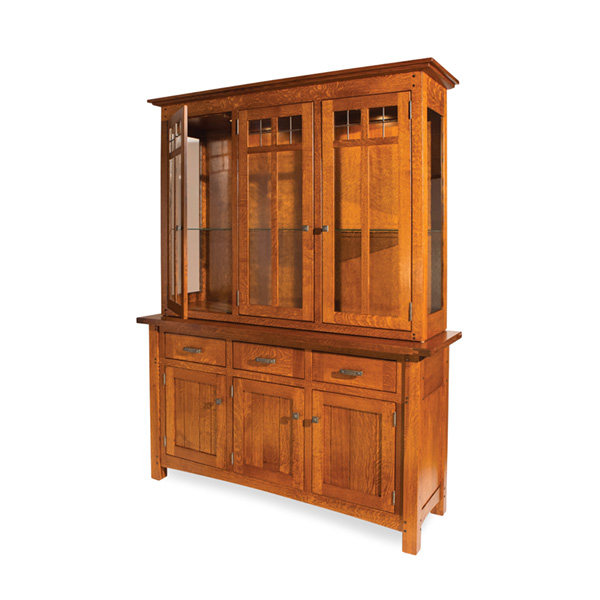 Amish Bainbridge Hutch | Amish Furniture | Shipshewana Furniture Co.