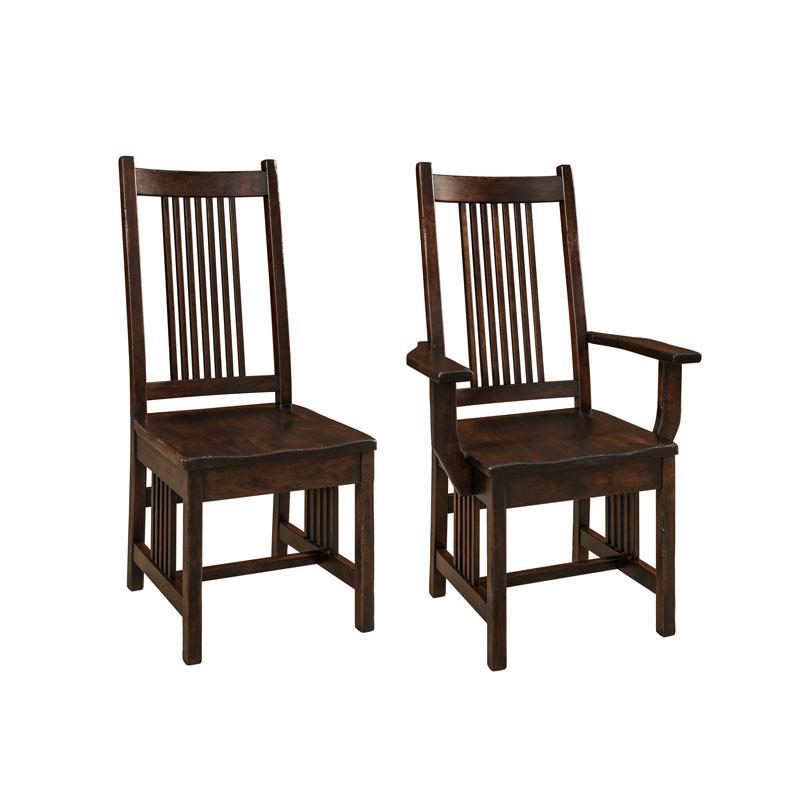 more information amish corinthian bar chair amish furniture shipshewana furniture co